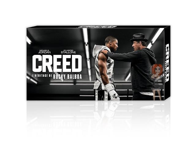 Box de colecionador francês do filme Creed - Blog Mineira sem Freio