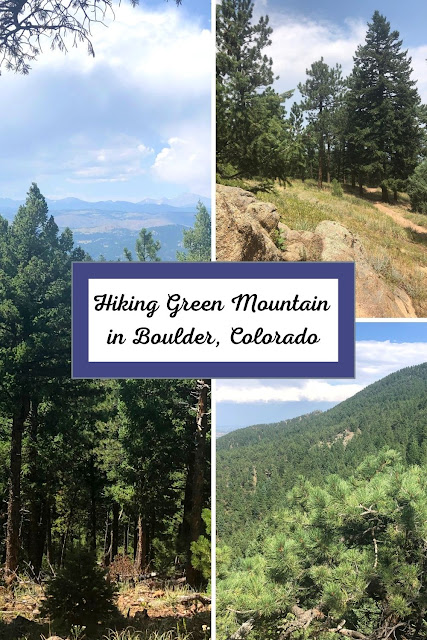 Boulder's Green Mountain Intrigues with a Lofty Evergreen Forest, Massive Rock Creations and Sweeping Views