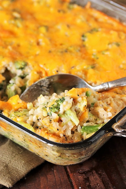 Broccoli-Rice Casserole with Cheese Image
