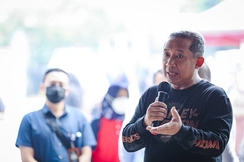 Jelang PTM, Pemkot Bandung Optimis  Pelakaanaan Vaksinasi Covid-19 Bagi PTK Selesai 100 Persen