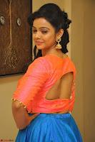 Nithya Shetty in Orange Choli at Kalamandir Foundation 7th anniversary Celebrations ~  Actress Galleries 062.JPG