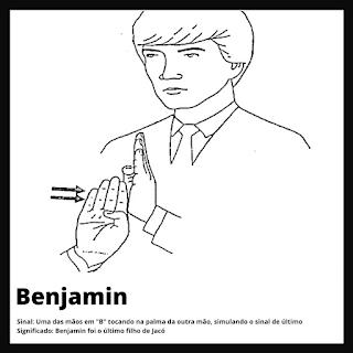 Benjamin em Libras