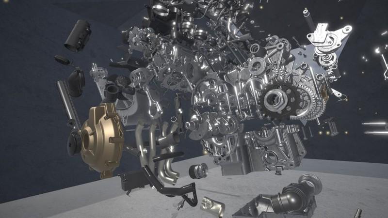 Ảnh chi tiết 'cực phẩm' BMW S1000RR 2020 giá hơn 600 triệu đồng