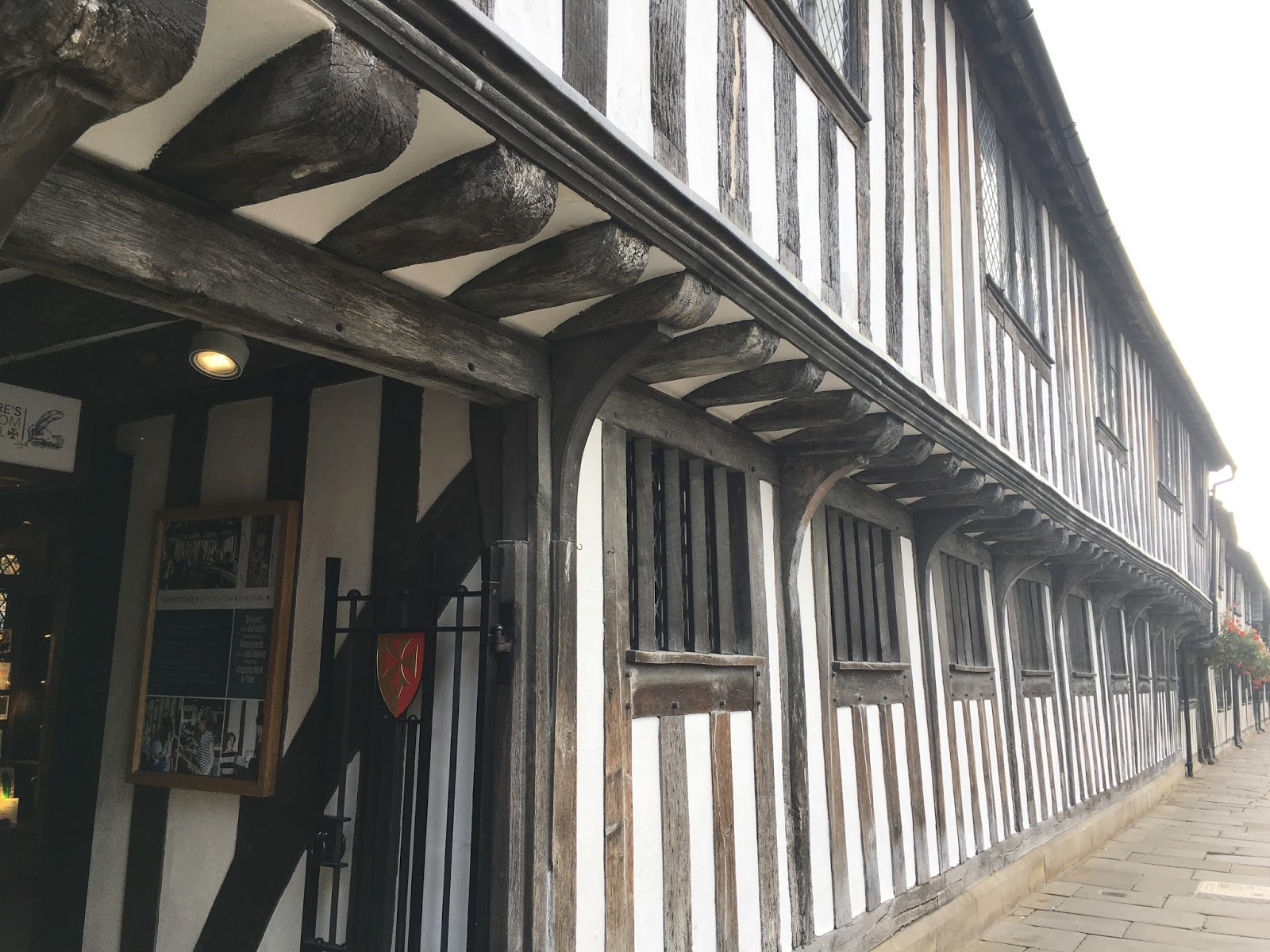 William Shakespeare The Guildhall \ Stratford Upon Avon \ Travel \ Priceless Life of Mine \ Over 40 lifestyle blog