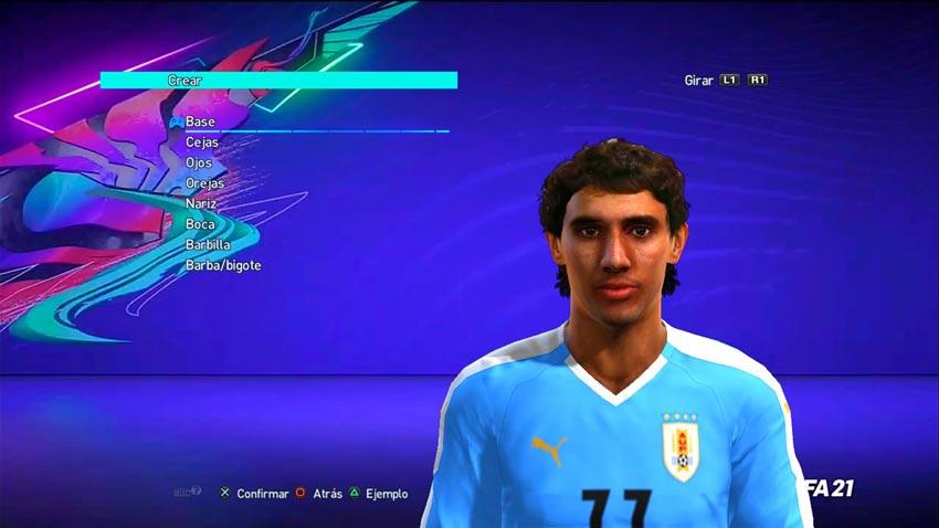 Mathías Corujo Face For PES 2013