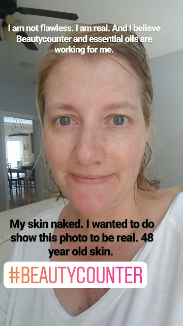 At 48, my skin is the best it's been in a long time. I use Beautycounter