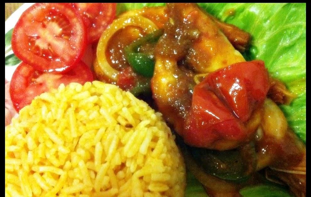 Story mamAdam: . : Nasi Tomato & Udang Masam Manis