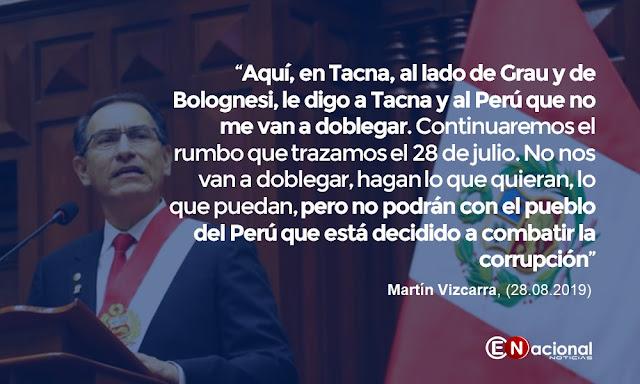 Martín Vizcarra frase 2019