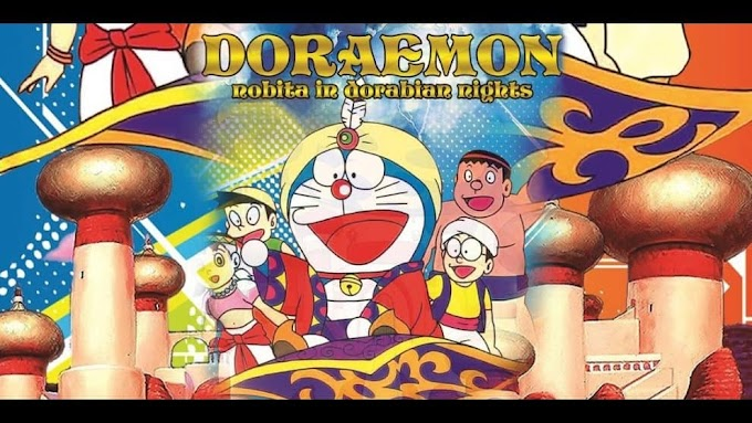 Doraemon The Movie Nobita's Dorabian Nights Hindi-Jap Dual Audio Download 480p, 720p & 1080p HD [REMASTERED]