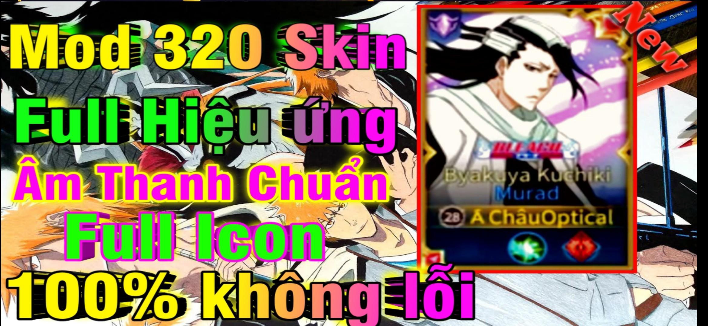 Hướng Dẫn MOD SKIN LIÊN QUÂN MỚI NHẤT MÙA 18 - Mod 320 Skin Full Hiệu Ứng Âm Thanh Icon