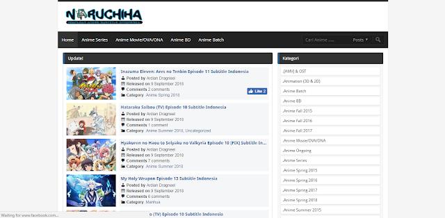 10 Situs Streaming dan Download Anime Sub Indo Terbaik!