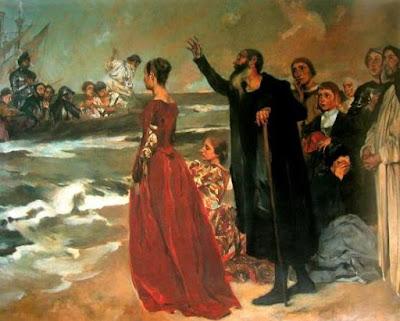 """O Velho do Restelo"" (1904) - pintura de  Columbano Bordalo Pinheiro (1857-1929) exposta no Museu Militar de Lisboa."