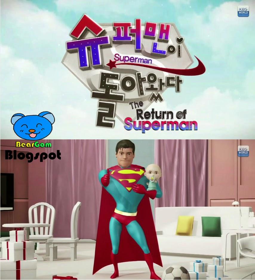 BearGom Shop: Bear Gom's Tv Show : The Return Of The Superman (KBS