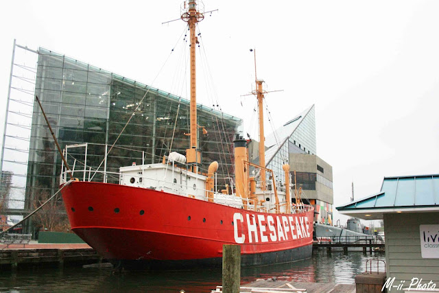 My Travel Background : A la découverte de Batimore, Inner Harbour, Lightship 116 Chesapeake