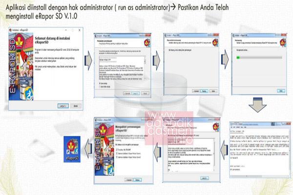Cara Instalasi Aplikasi e-Rapor SD Versi Terbaru 1.0