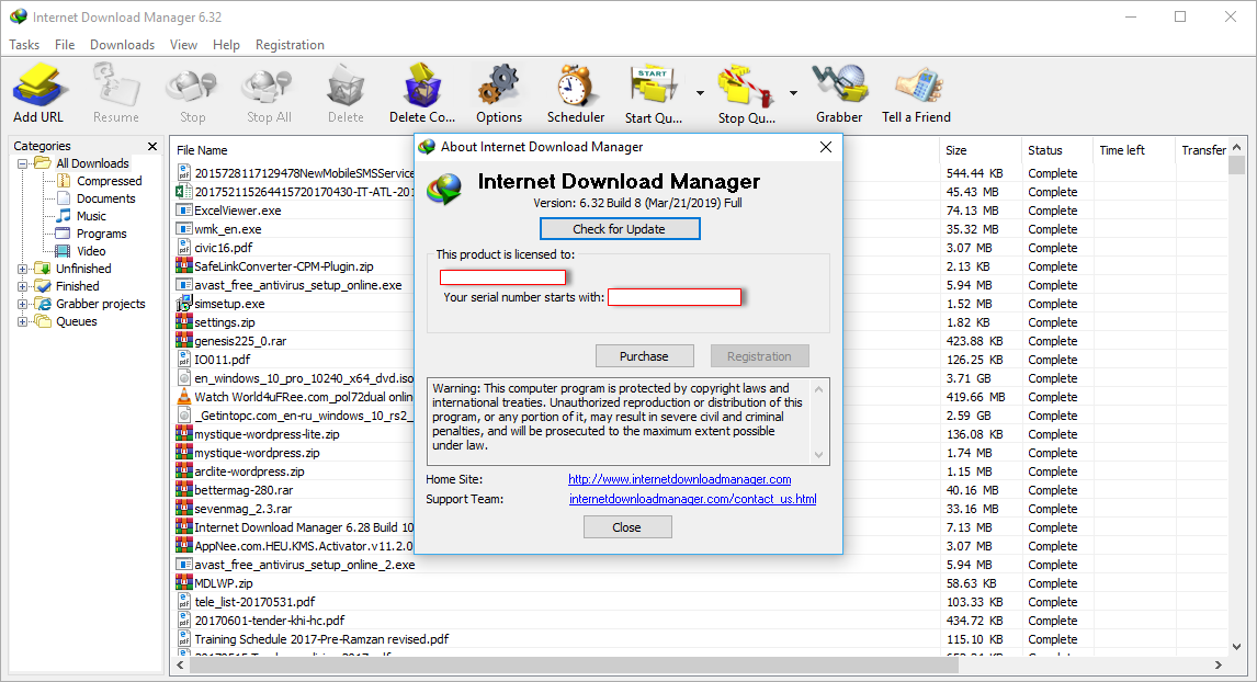 Internet Download Manager 6.32 Build 8 Patch