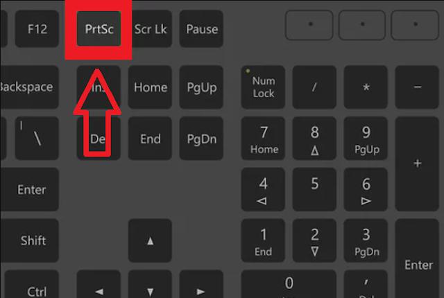 Cara Melakukan Screenshoot atau Printscreen Sebagian atau Seluruh Layar di Laptop