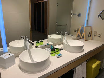 Bathroom at the Savvy Suite