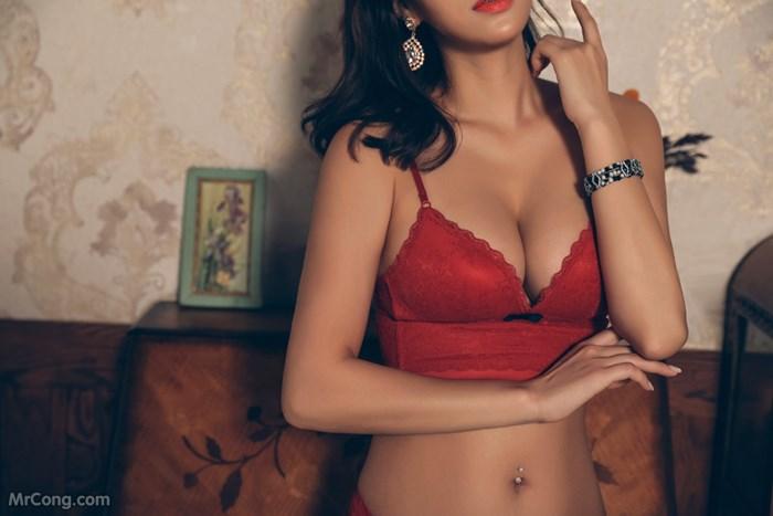 Image Kwon-Soo-Jung-MrCong.com-038 in post Người đẹp Kwon Soo Jung đầy mê hoặc trong bộ sưu tập nội y (134 ảnh)