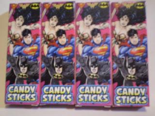 Back of Batman Candysticks box version 2