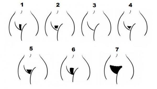 Como os homens preferem os pelos pubianos da mulher