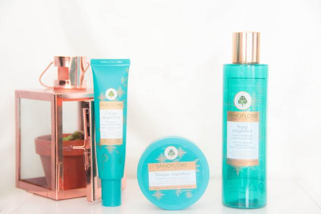 Crème magnifica, Masque magnifica Aqua magnifica soins imperfections