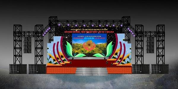 Dịch vụ thiết kế sân khấu sự kiện