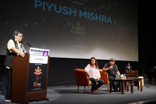 Subhash Ghai with Piyush Mishra