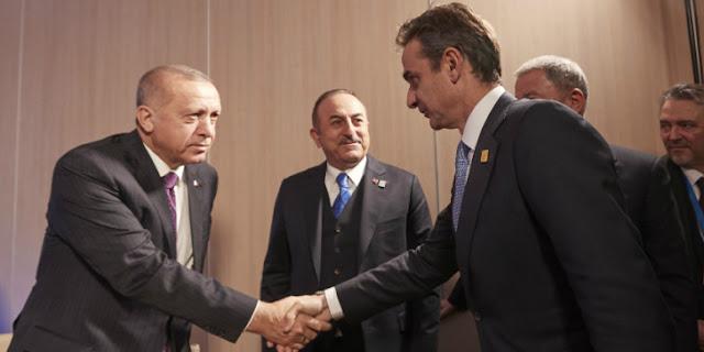 Τουρκικός Τύπος: Ο Ερντογάν γνωστοποίησε στον Μητσοτάκη το μνημόνιο με τη Λιβύη