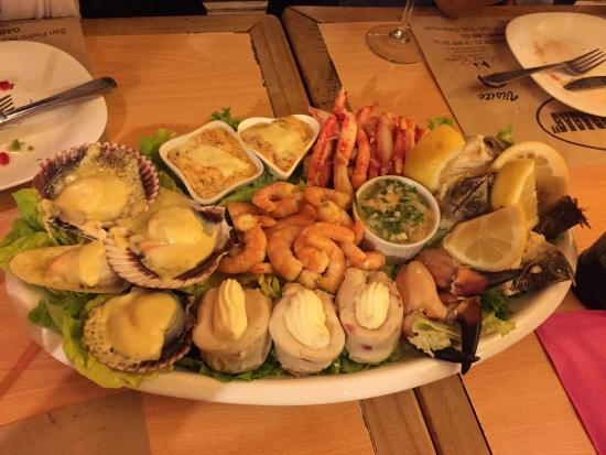 Prato do Restaurante Las Buenas Brasas em Puerto Varas