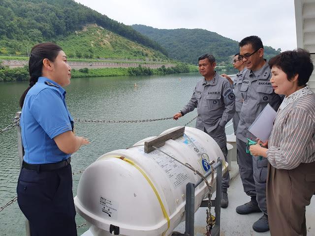 Bakamla RI – Korea Coast Guard Kuatkan Kerja Sama Bidang Capacity Building