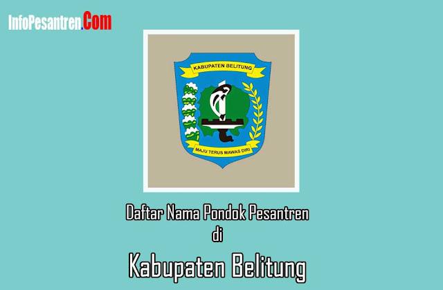 Pondok Pesantren di Kabupaten Belitung