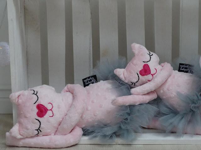 baletnica kotek róż maskotka 8