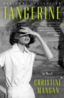 Book cover for Tangerine by Christine Mangan