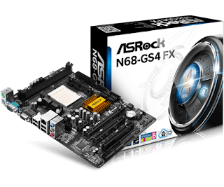 Placa Mãe ASRock N68-GS4 FX - Windows