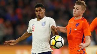 التشكيل المتوقع لمباراة انجلترا ضد هولندا