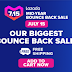 Lazada's Biggest Bounce Back Sale this July 15!