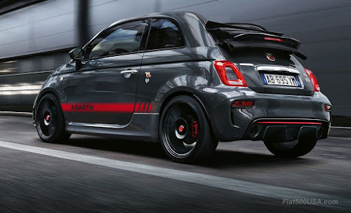 Abarth 695 Yamaha XSR Rear