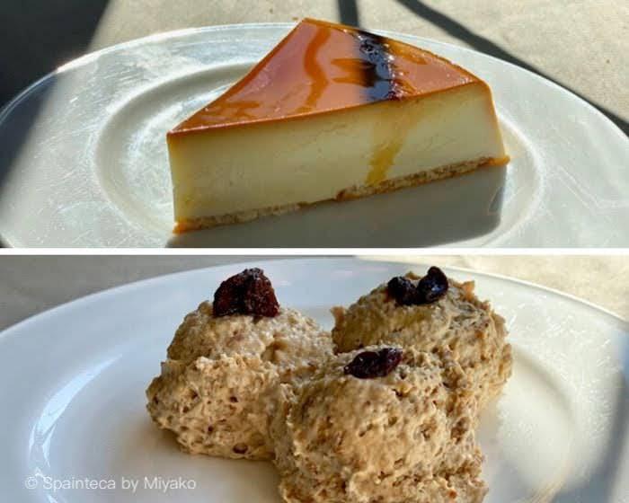 EL OSO Madrid アストゥリアスの濃厚で美味しいチーズケーキとイチジクのムース
