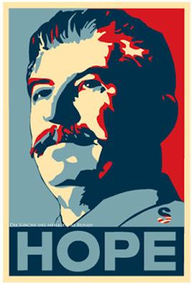Hoffnungsträger Politiker Josef Stalin - lustige Polit Satire