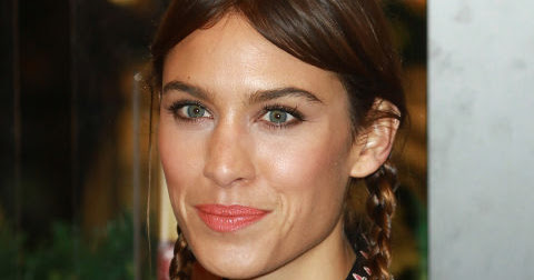 Alexa Chung's Braids Latest Hairstyle