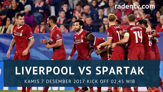 Liverpool vs Spartak Moskow