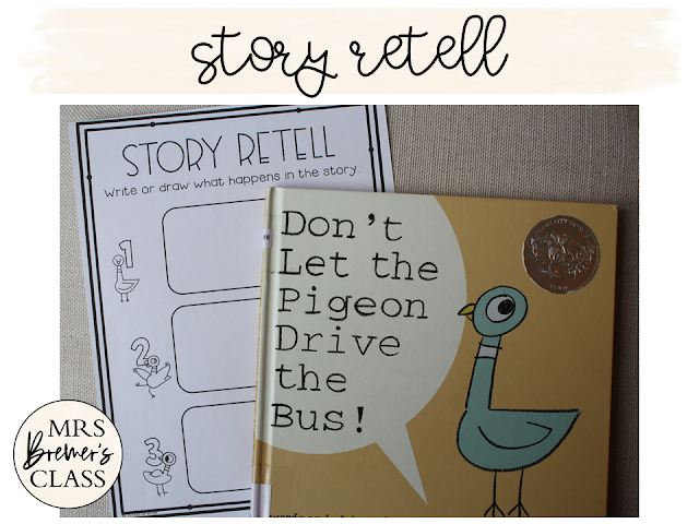Don't Let the Pigeon Drive the Bus is a fun read aloud for Back to School! These fun activities are standards based, and include a book study, class book, craftivity, and bookmarks. Your students will be SUPER engaged as they do these literacy activities!
