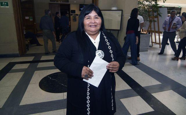 Diputada Mapuche Emilia Nuyado