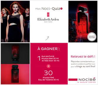 Jeu Concours Nocibé 32 Parfums Elizabeth Arden à gagner !