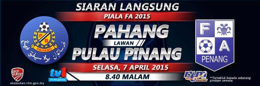 Piala FA 7 April 2015 Suku Akhir Pertama
