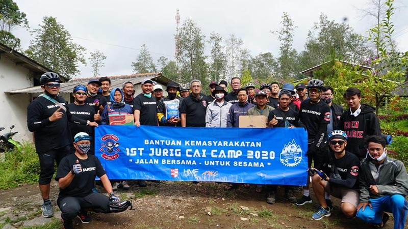 Jurig Cai Camp 2020, Jalan Bersama untuk Sesama