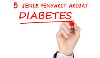 komplikasi karena diabetes