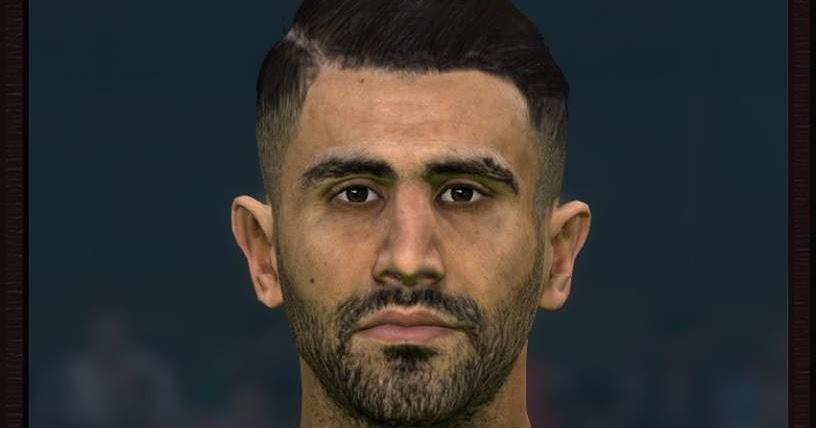 PES 2017 Mahrez (Man City) Face by Sameh Momen