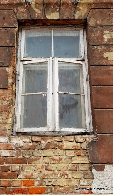 Warszawa Warsaw kamienica raga północ architektura warszawskie kamienice okno